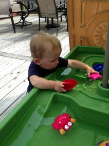 Water table from Nana & Papa!