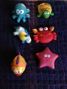 Sea Creature Bath Toys