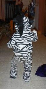 Zebra butt