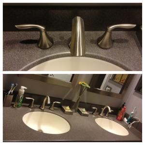 New faucet & countertop